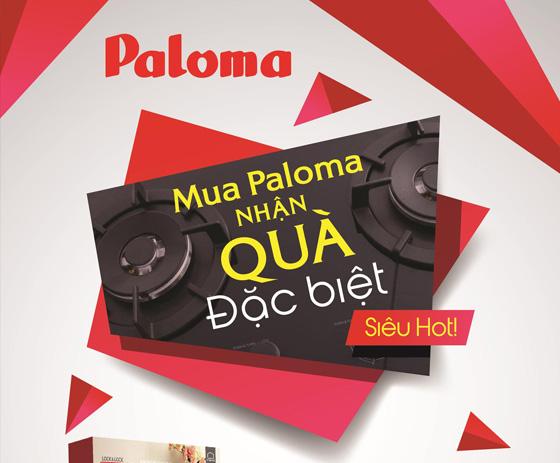 Mua Paloma, nhận quà đặc biệt